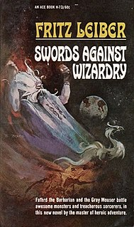 <i>Swords Against Wizardry</i> book by Fritz Leiber