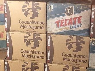 Cuauhtémoc Moctezuma Brewery - Cuauhtémoc Moctezuma