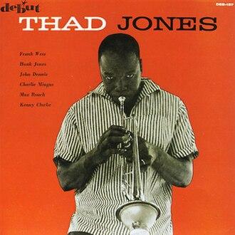 The Fabulous Thad Jones - Image: Thad Jones Album Cover Thad Jones DEB127