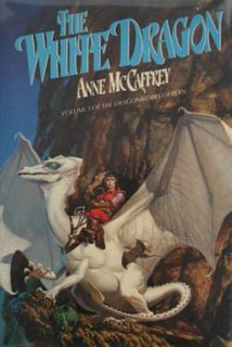 <i>The White Dragon</i> (novel) novel by Anne McCaffrey