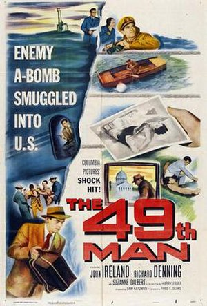 The 49th Man - Theatrical poster