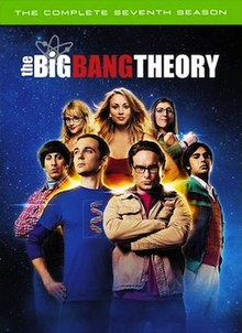 View The Big Bang Theory - Season 7 (2013) TV Series poster on Ganool