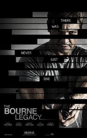 The Bourne Legacy (film) - Theatrical release poster