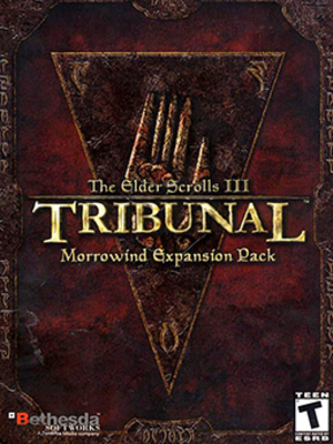 The Elder Scrolls III: Tribunal - Image: The Elder Scrolls III Tribunal Coverart