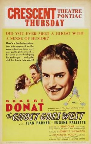 The Ghost Goes West - Image: The Ghost Goes West Film Poster