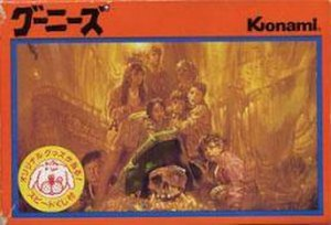 The Goonies (Famicom video game) - The Goonies