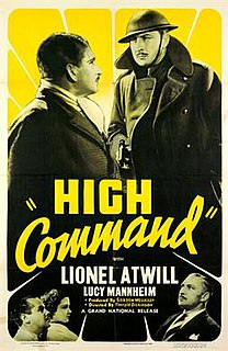 <i>The High Command</i> 1938 film by Thorold Dickinson