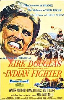 <i>The Indian Fighter</i> 1955 film by André de Toth