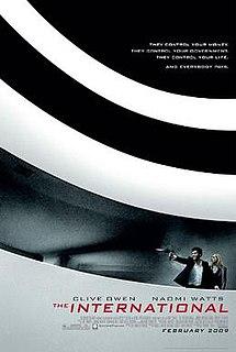 <i>The International</i> (2009 film) 2009 film