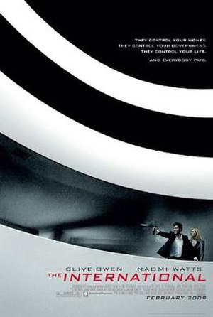 The International (2009 film) - Theatrical poster