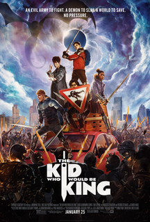 <i>The Kid Who Would Be King</i> 2019 science fantasy action-adventure film by Joe Cornish