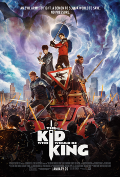 Picture of a movie: The Kid Who Would Be King