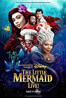 <i>The Little Mermaid Live!</i> musical television special created for ABC, based on the 1989 film The Little Mermaid