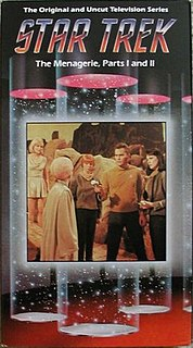 The Menagerie (<i>Star Trek: The Original Series</i>) 11th and 12th episodes of the first season of Star Trek: The Original Series