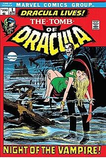 <i>The Tomb of Dracula</i> comic