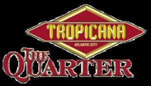 The Quarter at Tropicana - Image: The quarter logo