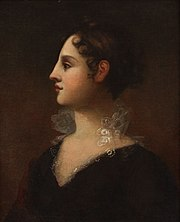 Theodosia Burr Alston, by John Vanderlyn (1802)