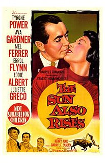 <i>The Sun Also Rises</i> (1957 film) 1957 film by Henry King
