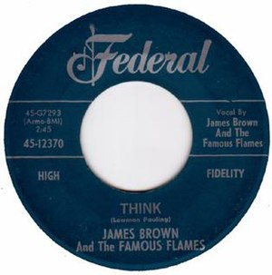 "Think (The ""5"" Royales song) - Image: Think James Brown"