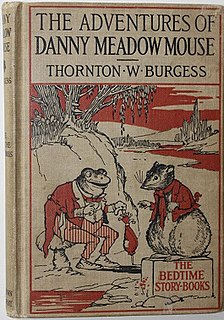 <i>The Adventures of Danny Meadow Mouse</i> book by Thornton Burgess
