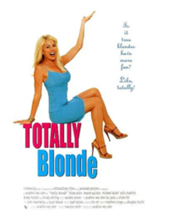 Totally Blonde - DVD Cover
