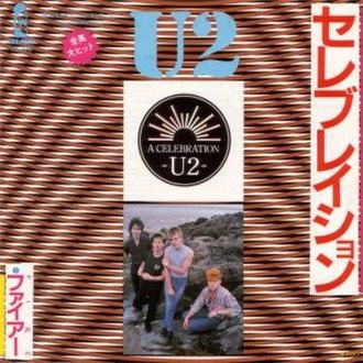 A Celebration - Image: U2celeb jp