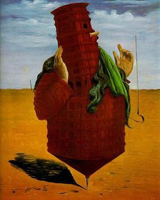 Max Ernst - Max Ernst, Ubu Imperator, (1923), Musee National d'Art Moderne, Centre Pompidou, Paris, France