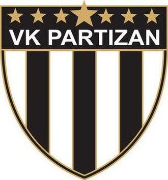 VK Partizan - Alternate logo of VK Partizan