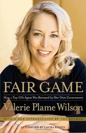 Fair Game: My Life as a Spy, My Betrayal by the White House - Image: Vpw fairgame