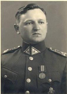 Vytautas Bulvičius Lithuanian leader of 1941 uprisings