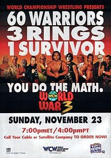 Image result for wcw world war 3 1997