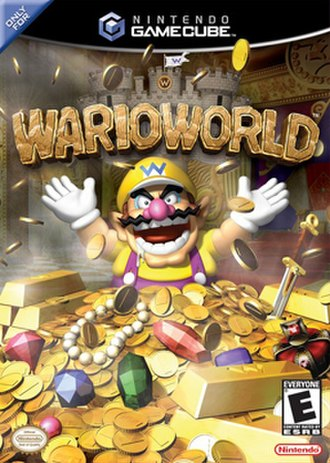 Wario World - North American box art