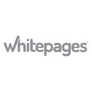 Whitepages (company) - Image: White Pages Logo