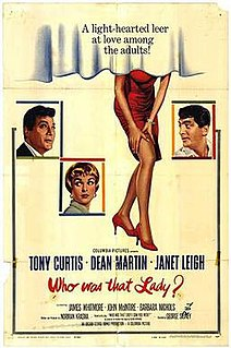 <i>Who Was That Lady?</i> 1960 film by George Sidney