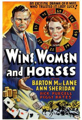 Wine, Women and Horses - Theatrical release poster
