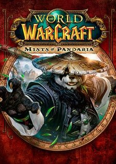 <i>World of Warcraft: Mists of Pandaria</i> expansion set for the MMORPG World of Warcraft