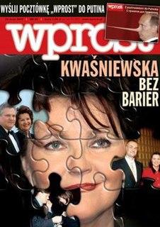 <i>Wprost</i> periodical literature