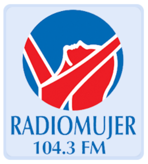 XHENX-FM - Image: XHENX Radio Mujer 104.3 logo