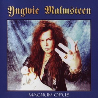 Magnum Opus (Yngwie Malmsteen album) - Image: Yngwie Malmsteen 1995 Magnum Opus (remastered)