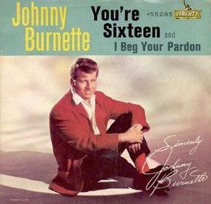 You're Sixteen - Image: You're Sixteen Johnny Burnette