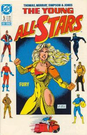 Fury (DC Comics) - YoungAll-Stars5.jpg