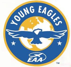 Young Eagles - Image: Young Eagles (emblem)