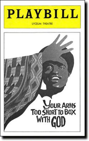 Your Arms Too Short to Box with God - 1976 Broadway Playbill