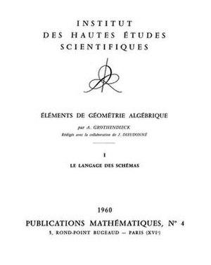 Éléments de géométrie algébrique - Image: Éléments de géométrie algébrique title page
