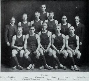1913–14 Illinois Fighting Illini men's basketball team - Image: 1913 14 Fighting Illini men's basketball team