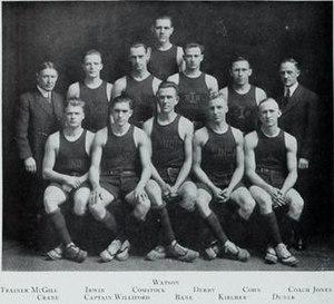 1913–14 Illinois Fighting Illini men's basketball team - Image: 1913 14 Fighting Illini men's basketball team