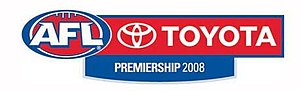 2008 AFL season - Official 2008 AFL logo