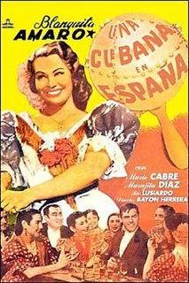 <i>A Cuban in Spain</i> 1951 film by Luis Bayón Herrera