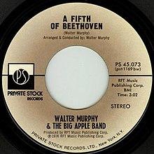 Een vijfde van Beethoven Walter Murphy single.jpg