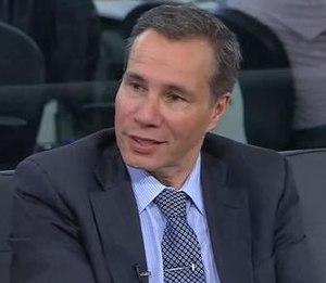 Alberto Nisman - Nisman during an Infobae interview, November 2013